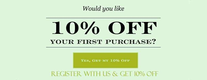 Resiter For 10% Discount