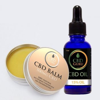 15% CBD Oil & CBD Balm Bundle