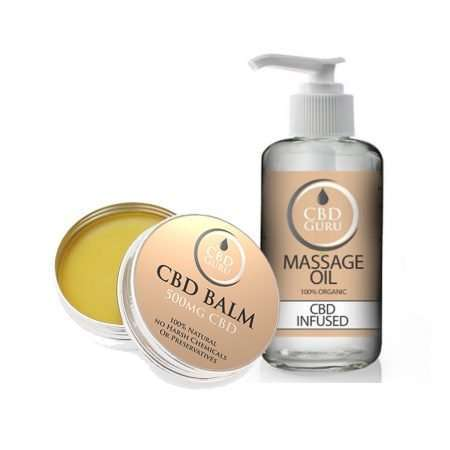 CBD Balm & Massage Oil Bundle