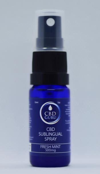 CBD Spray – 500mg Buy One Get One Free