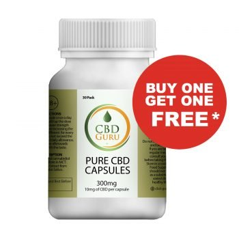 CBD Oil Capsules 10mg Buy One Get One Free
