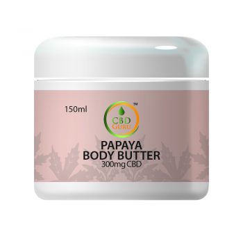 CBD Papaya Body Butter 300mg – 150ml