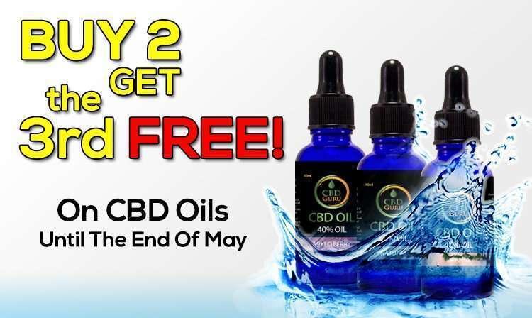 Buy 2 Get 1 Free CBD Oils