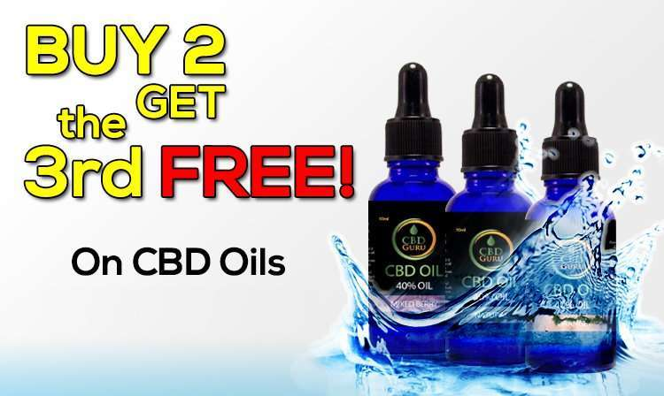Buy 2 Get 1 Free CBD Oils