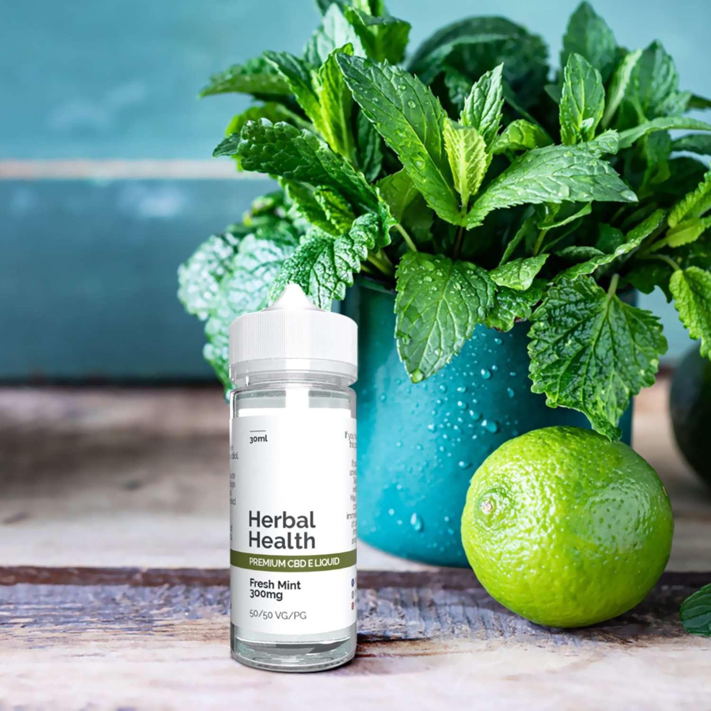 Mint CBD Vape 30ml by Herbal Health