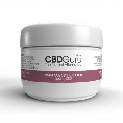 CBD Papaya Body Butter 300mg – 150ml