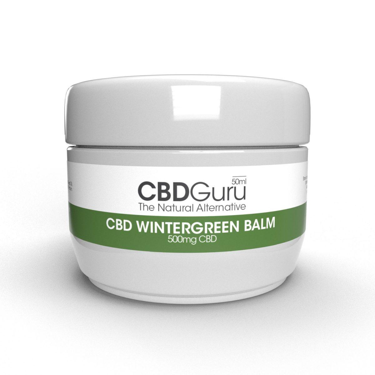 CBD Wintergreen Balm 500mg – 50ml