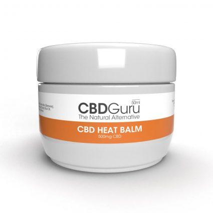CBD Heat Balm 500mg – 50ml