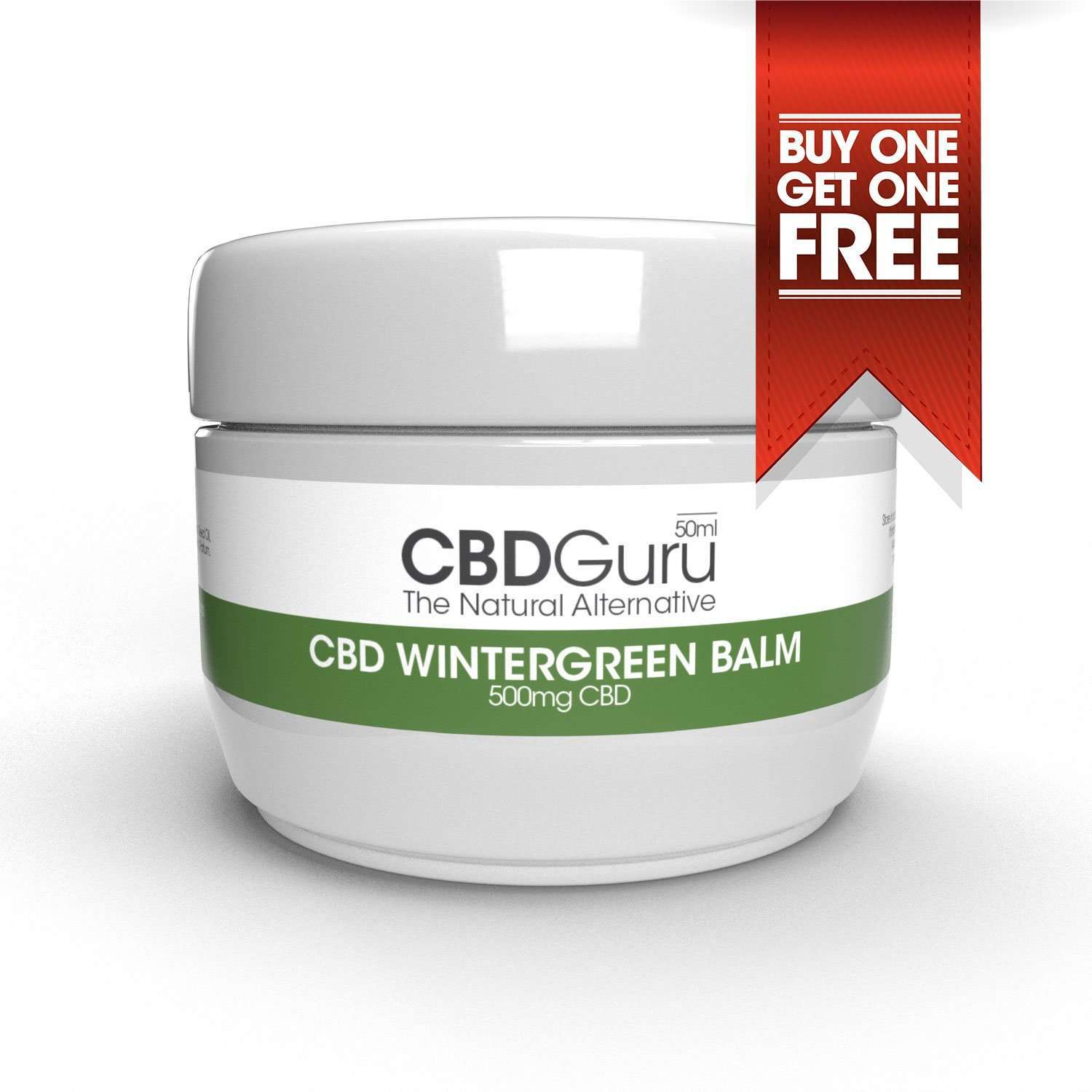 CBD Wintergreen Balm 500mg – 50ml